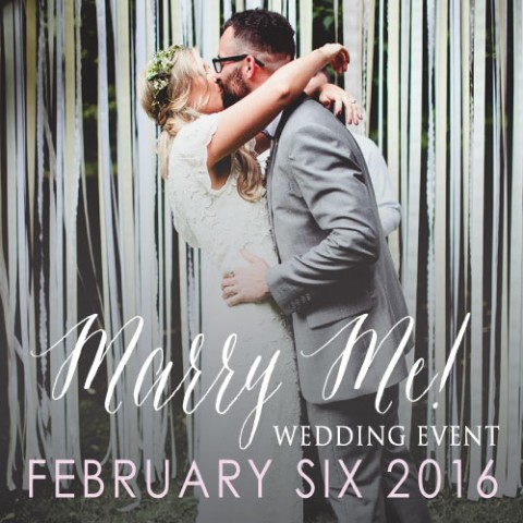 February 6th Marry Me @ The Portland EXPO